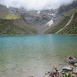 The crystal Humantay Lake