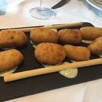 Croquetas de jamón.