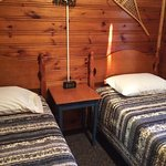 Cabin #4 Twin Beds