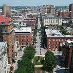 Washington Monument and Mount Vernon Place