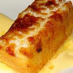 La torrija caramelizada con pasteles de mandarina es una creación sorprendente.