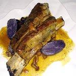 Costilla de Blach Angus ... cocinada excelente