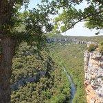 Vista espectacular del rio Ebro