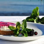 """Wild Berry Cheesecake..."" #esperiarestaurant"
