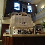 Masa is in a converted chapel, so it is an impressive space.