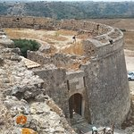 The entrance of the castle (castle bailey)