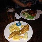 El bar y la comida típica