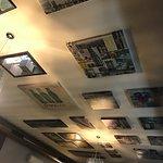 Il soffitto della 1° sala
