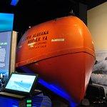The Maersk Alabama lifeboat
