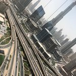 Burj Khalifa and Dubai Mall View from Room