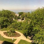 """View from the 6th floor """"Park View Suite""""."""