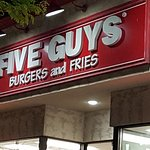 Five Guys - my FAVORITE burger chain