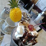 Banana Split and a Chocolate Sundae yummm what else is there to say!