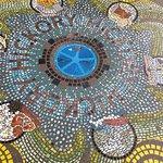 Beautiful, mosaic splash pad