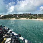 Leaving Grace Bay for great dive