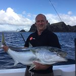 Fishing at the Cavalli Islands a great king fish