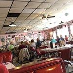 Inside Little Anthony's Diner