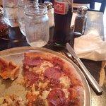 Pizza & Mexican Coke!