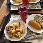 Lunch in Kyiv.