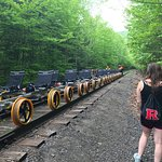 Revolution Rail bikes are a wonderful way to be in nature, get some great cardio, and view the A