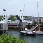 Perkins Cove drawbridge, Ogunquit, Maine