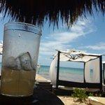 Drinque e mar