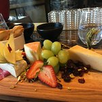 Yummy local cheeses!