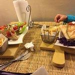 falafel y kebab