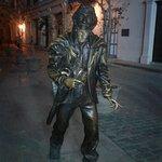 Estatua del Caballero de París