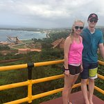 Beautiful Lookout near the Bauxite mine we stopped at.