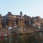 Famous steps on the River Ganges