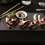 Delicious filet - beautiful presentation