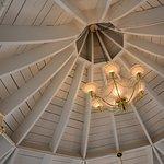 Coffee / Danish Pastry Gazebo area Ceiling