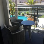 King Suite Balcony Poolside (different on all levels)