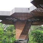 Esta es la estructura del Orquidiorama