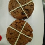 Hot Cross Buns Cookie