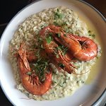 Arroz, with clams and prawns