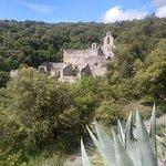 Vistas de las ruinas del monasterio