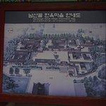 Map of the Hanok Village -