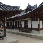A typical Hanok House -