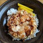 Seafood Kakiage Don Set