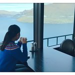 Enjoy the coffee with a view