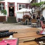 Cafe Burkardt - Innenhof