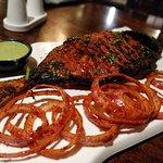 yummy...tandoori fish