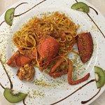 Tagliolini all'astice con pistacchio