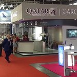 SIAL 2018: Qatar Airways Cargo at the N1 in the SNIEC.