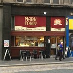 Mark Toney's - great lunch at good value with seating over two levels.