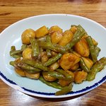 Potato and Green beans, nice and light