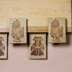 Pocket-sized journals with artworks inspired from Jawahar Kala Kendra.