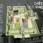 Le plan du site du chateau